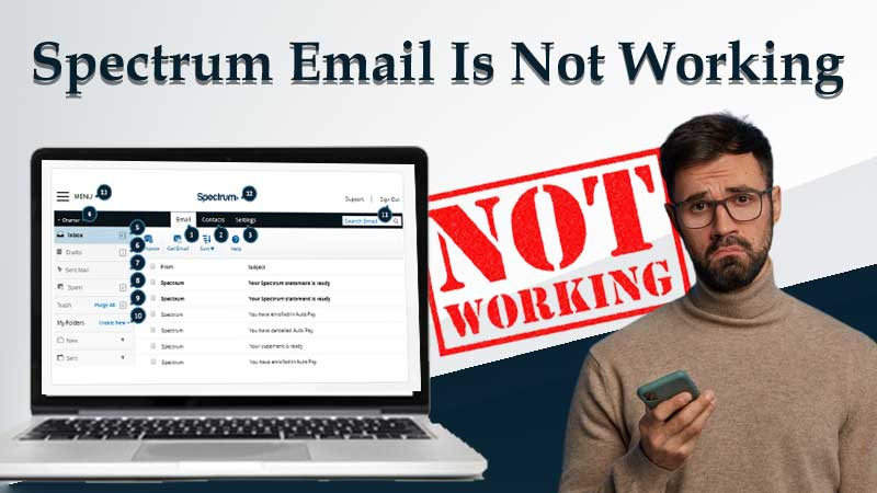 Spectrum Email is Not Working in 2021? Use This Corrective Guide to Fix Charter Email Issues on Various Platforms