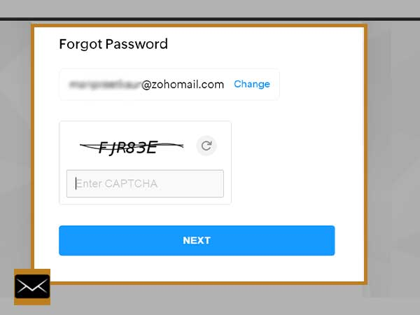 Fill in the Captcha