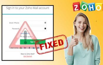 Fix-zoho-mail-login-problems