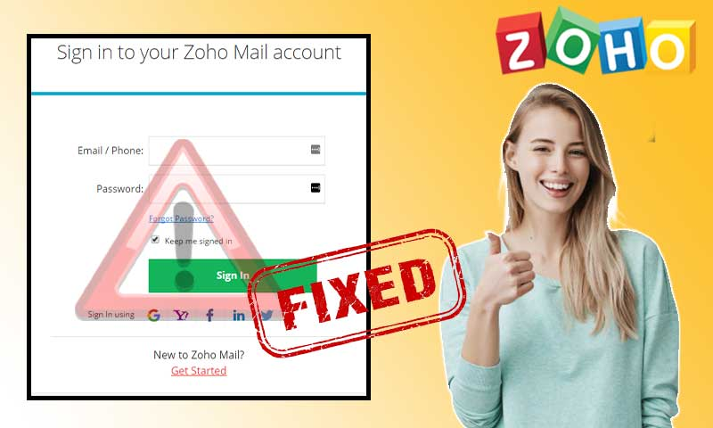 Stressing Over Zoho Email Login Issues? This Guide of 8 Different Solutions is Your Knight in Shining Armour